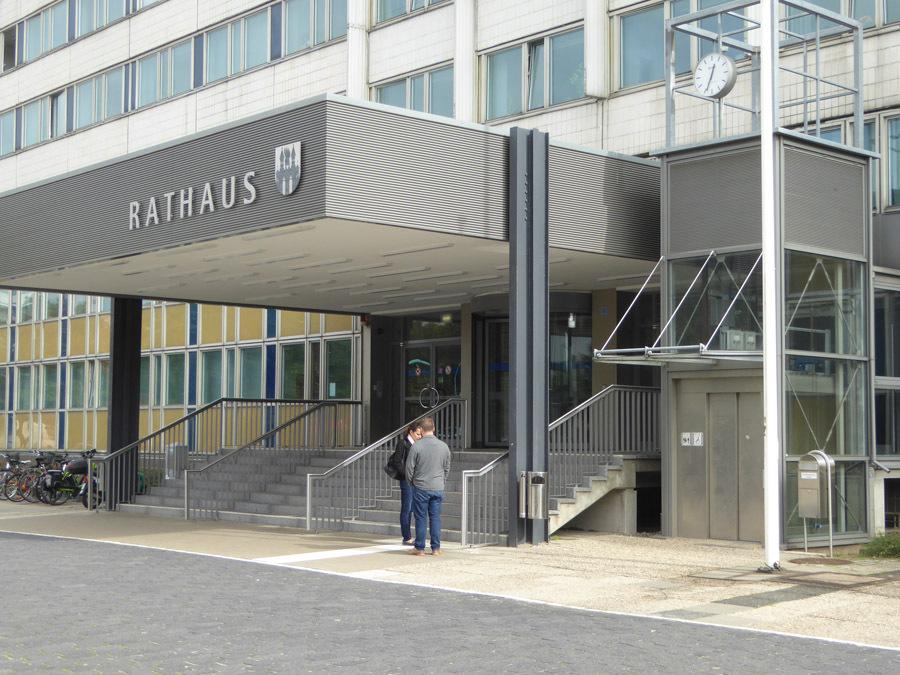 Rathaus Neubrandenburg Umbau Stadtarchiv milatz.schmidt architekten