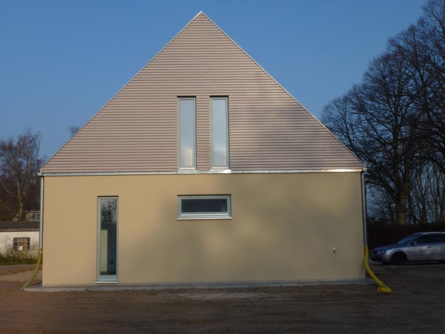 Neubau Wohnhaus mit Büro Welzin Usedom milatz.schmidt architekten