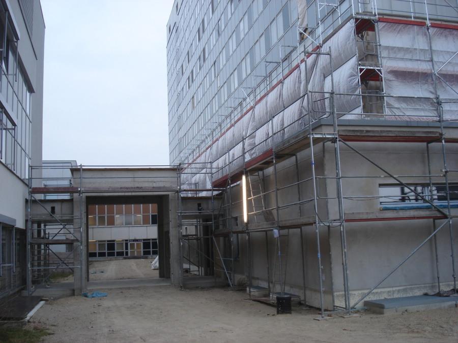 Umbau Dietrich Bonhoeffer Klinikum Neubrandenburg Planung und Bauüberwachung milatz.schmidt architekten