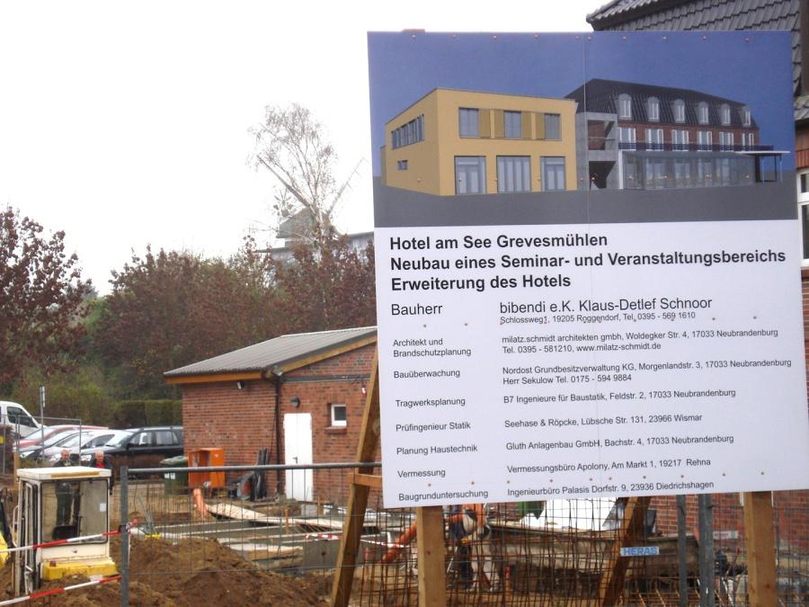Baubeginn Hotell am See Grevesmühlen milatz.schmidt architekten