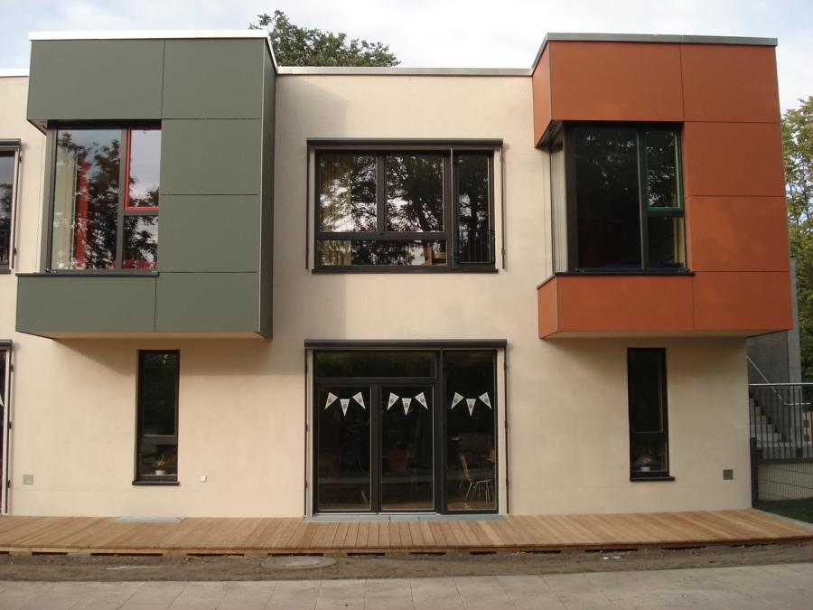 Übergabe Kindertagesstätte Bürgertreff Ahlbeck milatz.schmidt architekten