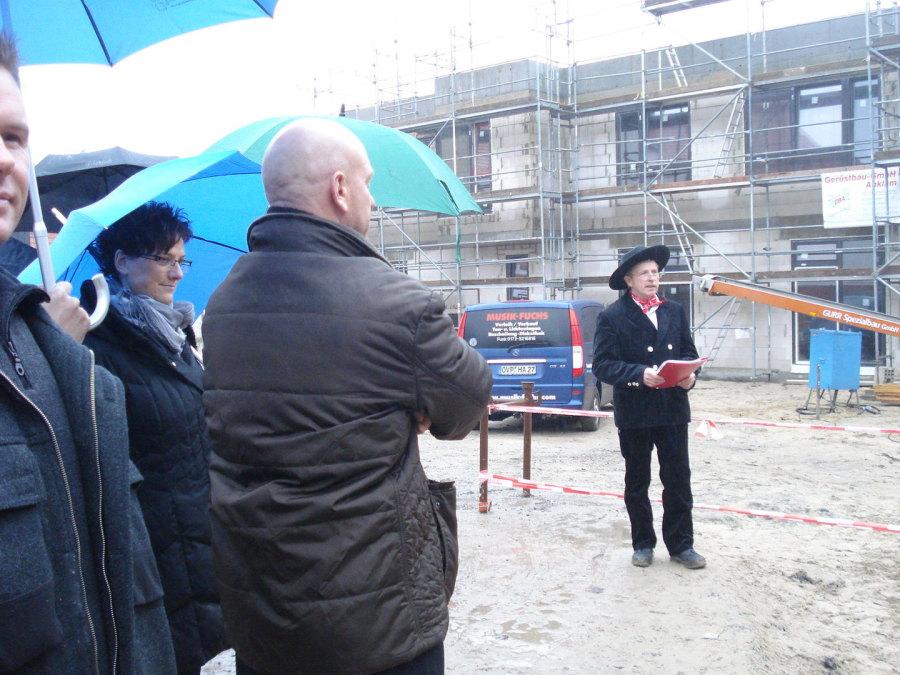 Richtfest Kindertagesstätte Bürgertreff Ahlbeck milatz.schmidt architekten