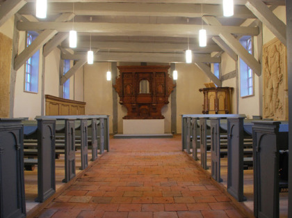 Wiedereinweihung Fachwerkkirche Hildebrandshagen milatz.schmidt architekten